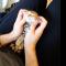 【猫動画】極楽気分でカワイイ!!子猫がマッサージされて・・・!?